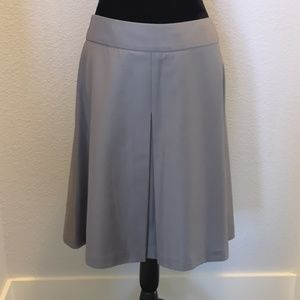Worthington A-line Gray Skirt